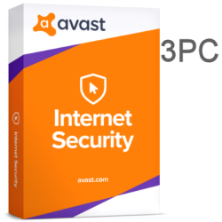 AVAST INTERNET SECURITY  3 PC 1 AÑO