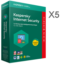 KASPERSKY INTERNET SECURITY MULTIDEVICE X5  1 AÑO EX-BOX