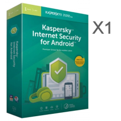 KASPERSKY INTERNET SECURITY ANDROID X1  1 AÑO EX-BOX