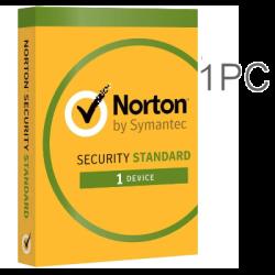 NORTON SECURITY 1 PC 1 YEAR