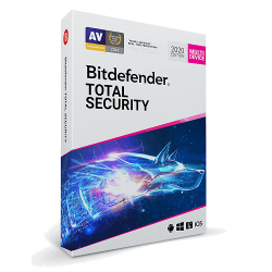 BITDEFENDER TOTAL SECURITY  3 DEVICES 2 YEARS