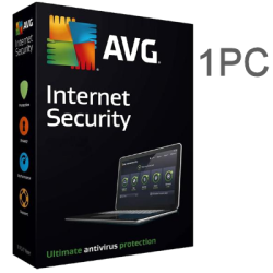 AVG INTERNET SECURITY  1 PC 1 AÑO