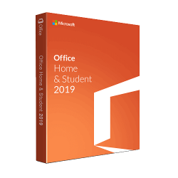 MICROSOFT OFFICE HOME  AND STUDENT 2019 1 PC