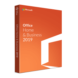 MICROSOFT OFFICE HOME AND  BUSINESS 2019 1 PC