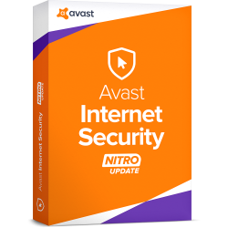 AVAST INTERNET SECURITY  1 PC 3 YEARS