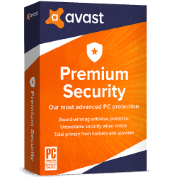 AVAST PREMIUM SECURITY 1 DEVICE 1 YEAR