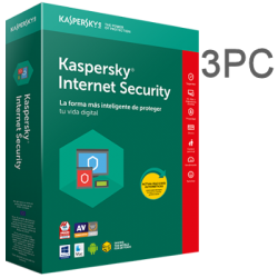 KASPERSKY INTERNET SECURITY 3 PC 1 YEAR ESD