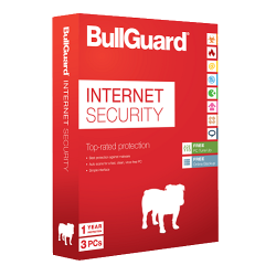 BULLGUARD INTERNET SECURITY 3 PC 1 ANNO
