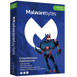 MALWAREBYTES PREMIUM 3 DEVICES 1 YEAR