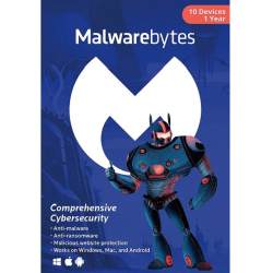 MALWAREBYTES PREMIUM 10 DEVICES 1 YEAR