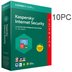KASPERSKY INTERNET SECURITY 10PC 1 AÑO ESD