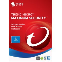 TREND MICRO MAXIMUM SECURITY 3 DEVICES 2 YEARS