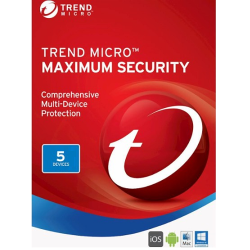 TREND MICRO MAXIMUM SECURITY 5 DEVICES 3 YEARS
