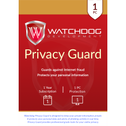 WATCHDOG PRIVACY GUARD 1 PC 1 AÑO