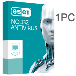 ESET NOD32 ANTIVIRUS 1PC 1 YEAR EX-BOX