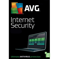 AVG INTERNET SECURITY  1 DEVICE 2 YEAR