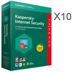 KASPERSKY INTERNET SECURITY MULTIDEVICE X10  1 ANNO ESD