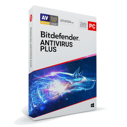 BITDEFENDER ANTIVIRUS PLUS 3 PC 1 AÑO
