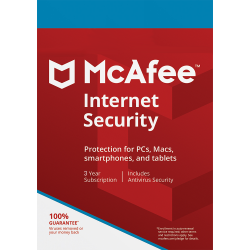 MCAFEE INTERNET SECURITY 10 DISPOSITIVOS 1 AÑO