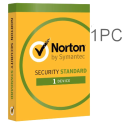 NORTON SECURITY STANDARD 1 PC 1 YEAR