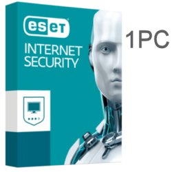 ESET INTERNET SECURITY 1PC 1 AÑO EX-BOX