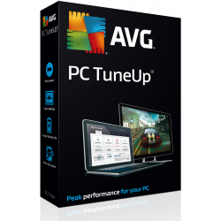 AVG PC TUNEUP 5 PC 1 AÑO