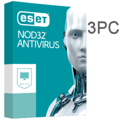 ESET NOD32 ANTIVIRUS 3PC 1 YEAR ESD