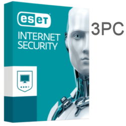 ESET INTERNET SECURITY 3PC 1 YEAR ESD
