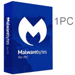 MALWAREBYTES  1PC 1YEAR EX-BOX